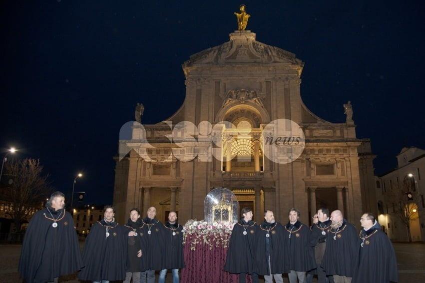 Reliquie di Sant'Antonio Abate da Arles ad Assisi per il Piatto 2017