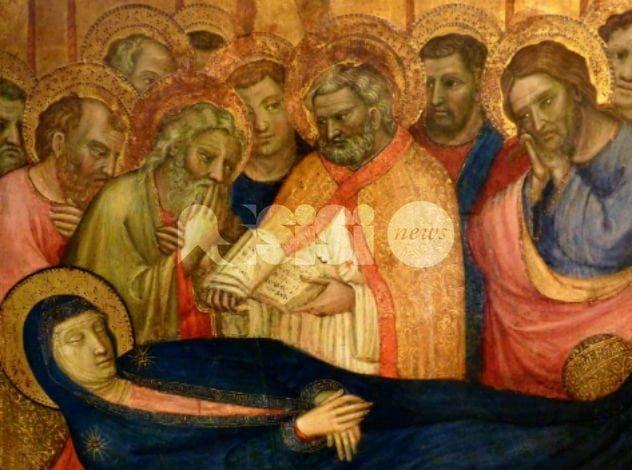 Dormitio Virginis da Assisi agli Uffizi di Firenze fino a febbraio 2017