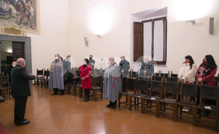 Compagnia dei Cavalieri Colle Paradiso, presentato il libro di Giuseppe Marini (foto)