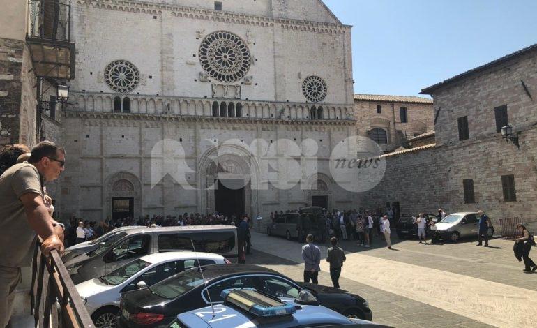 Celebrate nella cattedrale di Assisi le esequie di Alberto Sironi