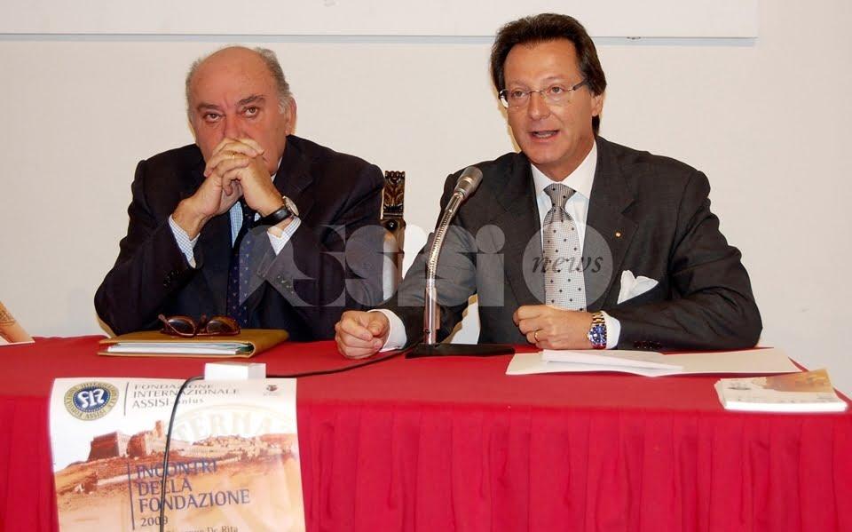 Giulio Franceschini al vertice della Fondazione Internazionale Assisi