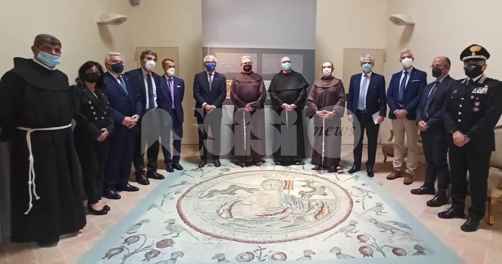 Madaba: la città dei mosaici, la mostra inaugurata ad Assisi (foto)