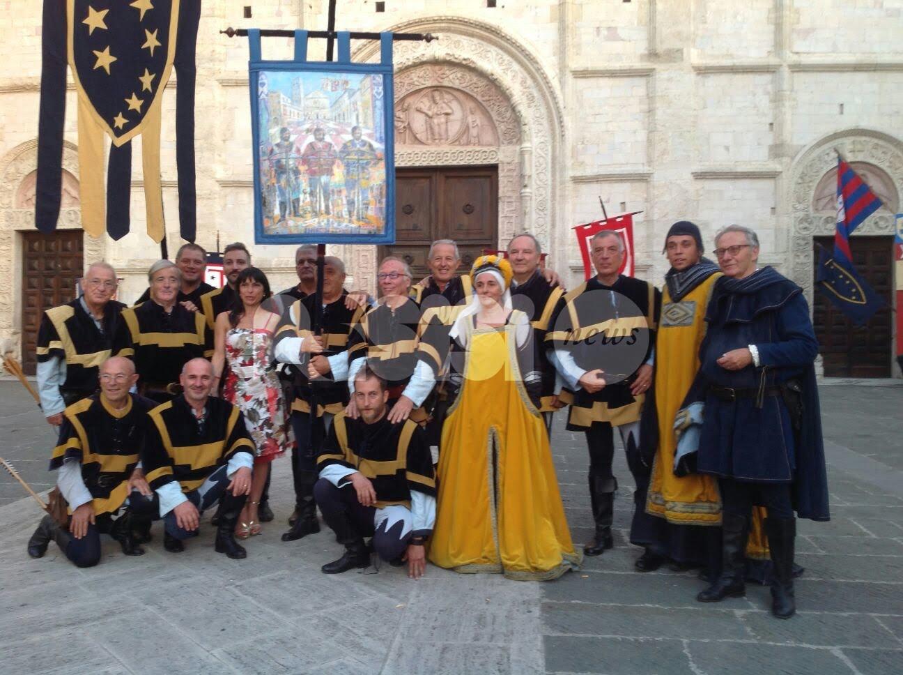 Palio di San Rufino 2017 ad Assisi, vince il Terziere Santa Maria