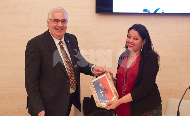 Al Rotary Assisi si è parlato di Racconti di guerra tra pietre di pace