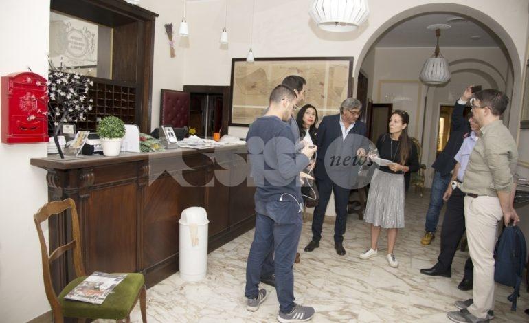 Hotel Subasio, primo sopralluogo dopo la riconsegna delle chiavi (foto)