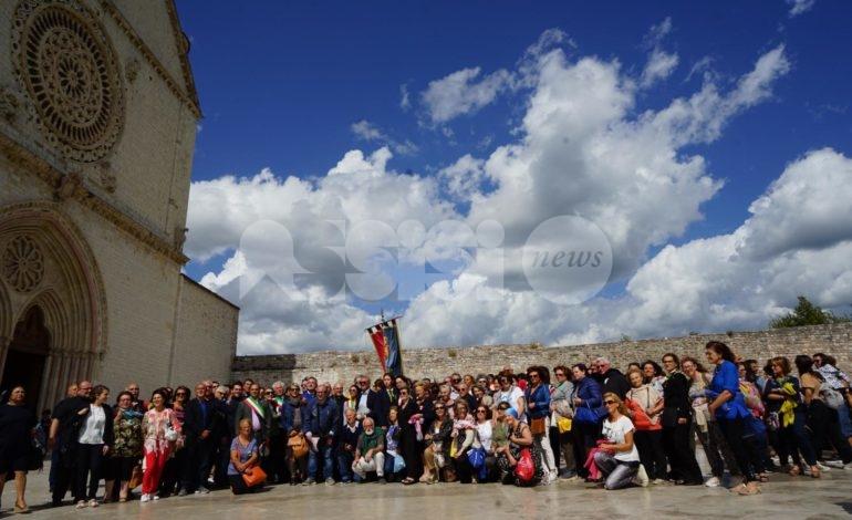 Ad Assisi il treno storico Benevento-Pietrelcina-Assisi (foto)