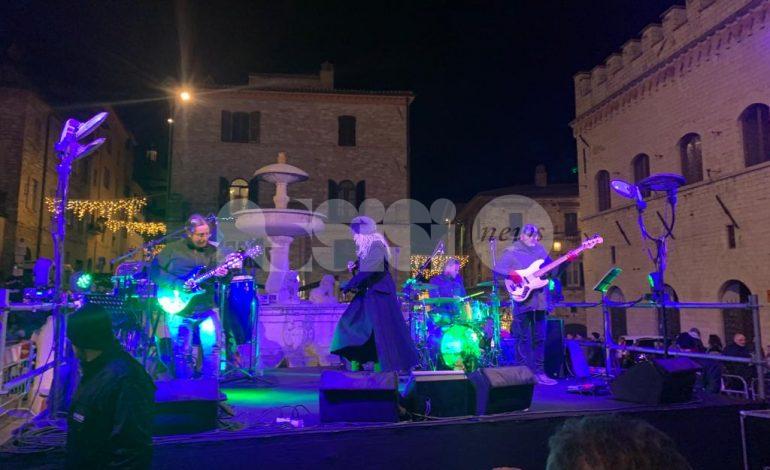 Concerto di Capodanno ad Assisi 2020, le foto da Piazza del Comune