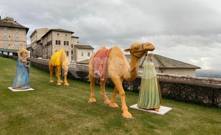 Statue di Natale 'parcheggiate' al Monte Frumentario, Fratelli d'Italia attacca