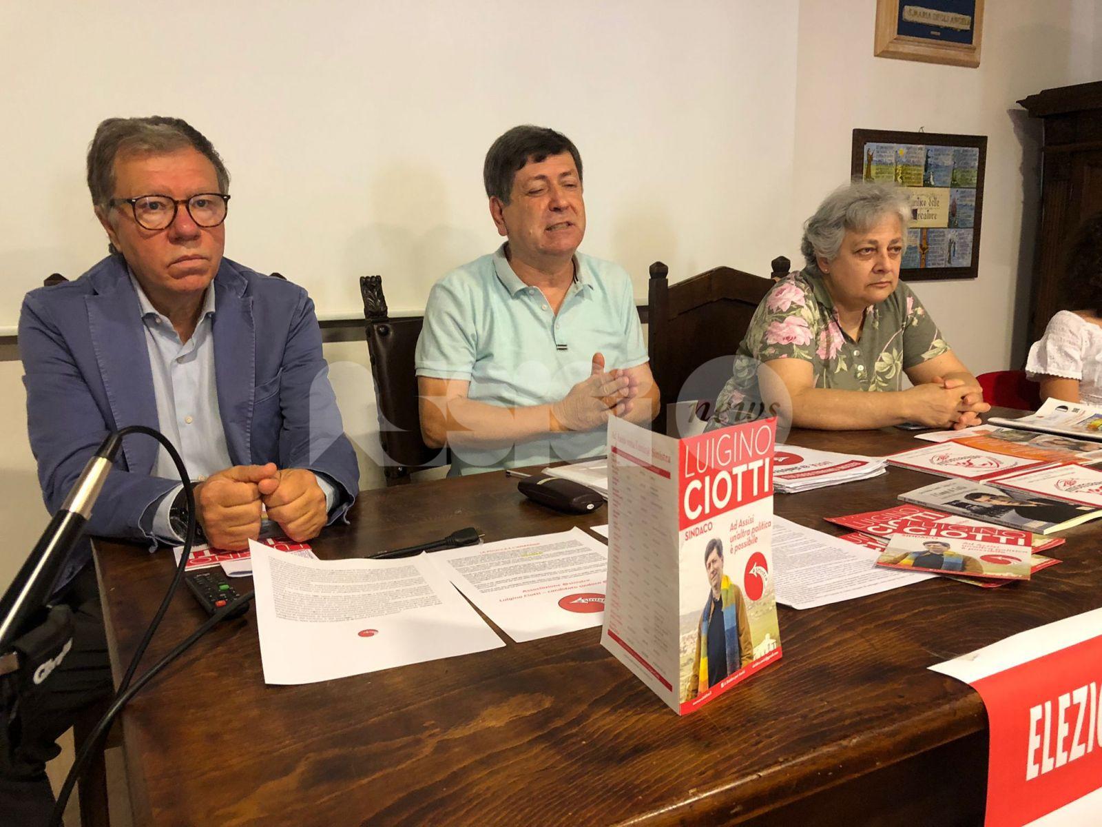 """Luigino Ciotti e @Sinistra: """"Da Assisi un grande cambiamento sociale"""""""