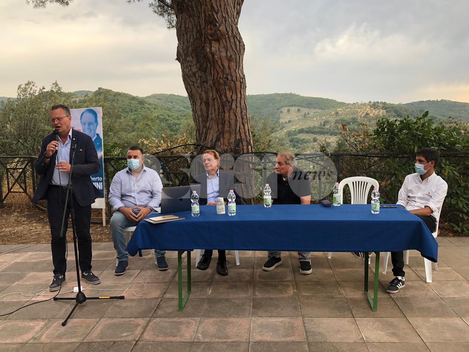 Lamberto Marcantonini si ricandida a sindaco di Bettona (foto)