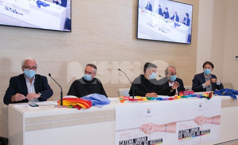 "Marcia per la pace Perugia-Assisi 2020, una catena umana ""contro tutti i virus"""