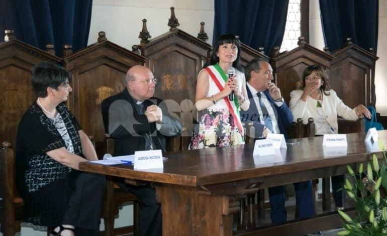 Stefania Proietti vice presidente dell'Associazione Città per la Fraternità