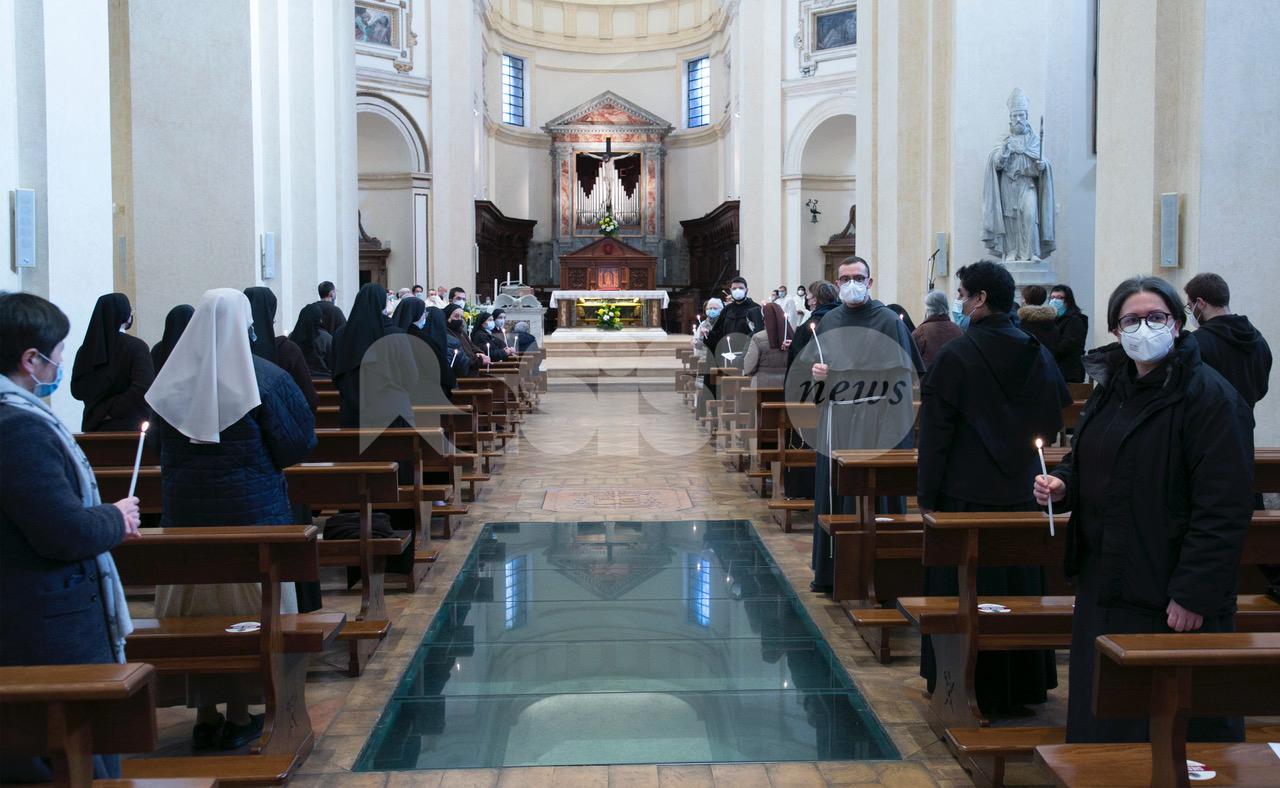 Giornata mondiale della vita consacrata 2021 celebrata ad Assisi (foto)