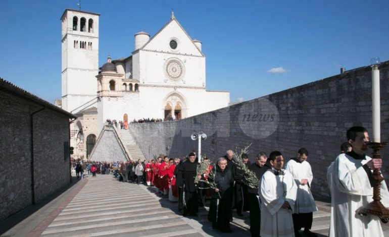 Aperta ufficialmente la Settimana Santa di Pasqua 2018 ad Assisi
