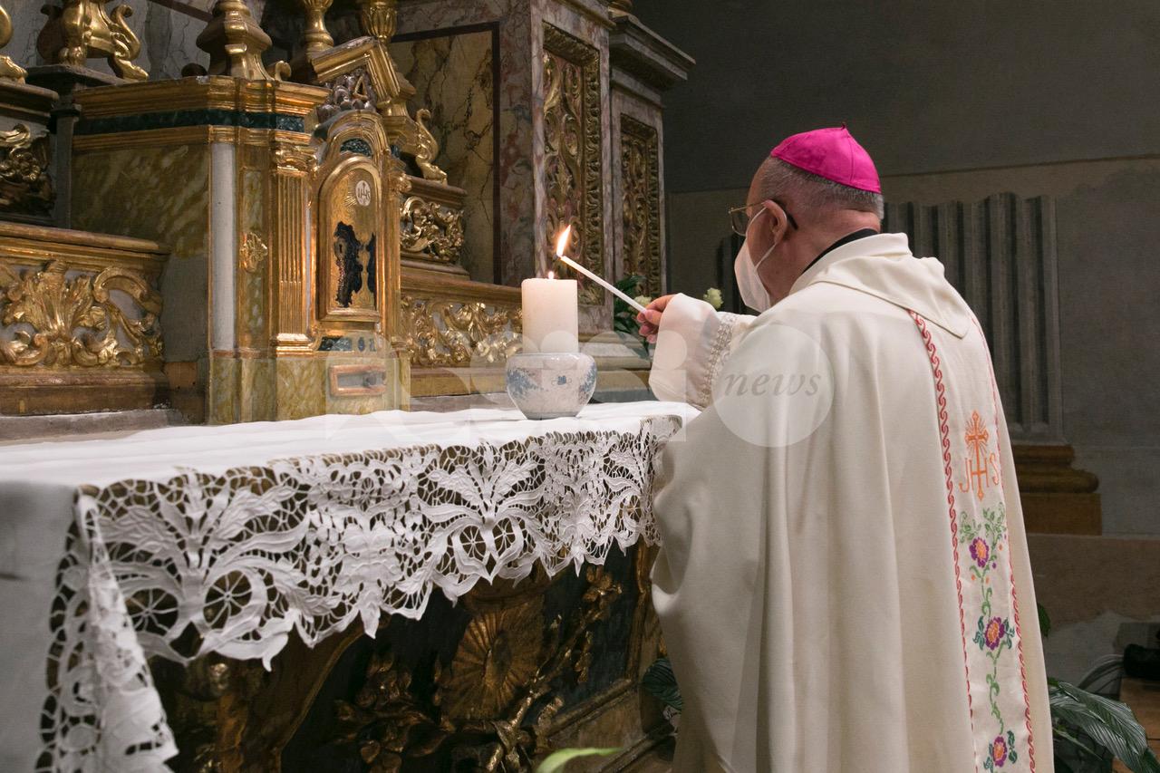 Monsignor Domenico Sorrentino festeggia i suoi primi 15 anni ad Assisi (foto)