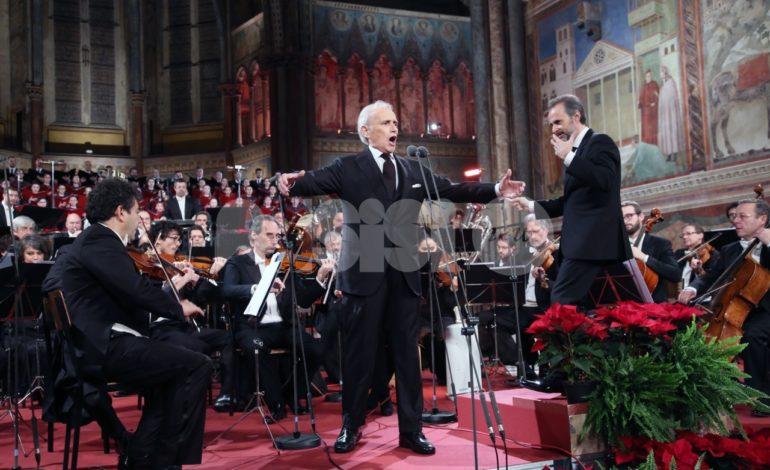 Registrato il concerto di Natale ad Assisi 2018: foto-video dalla Basilica di San Francesco