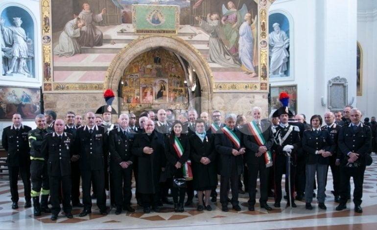 Carabinieri di Assisi in festa per la Virgo Fidelis 2018 (foto)