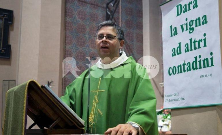 Padre Antonio Petrosino nuovo parroco di Rivotorto di Assisi e Capodacqua