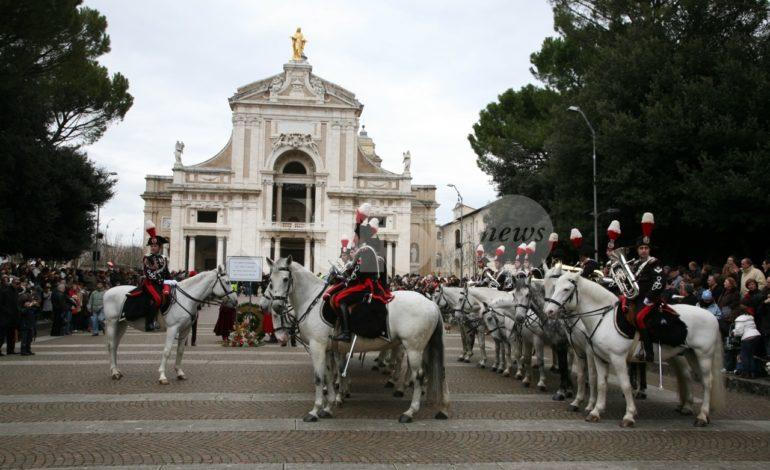 La Fanfara dei Carabinieri a cavallo protagonista al Piatto di Sant'Antonio 2019
