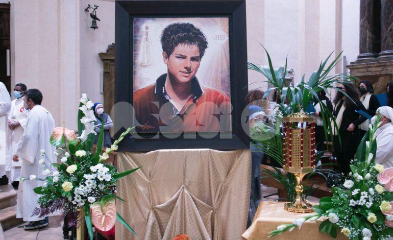Beato Carlo Acutis, ieri la veglia di preghiera in Cattedrale (foto)