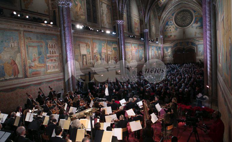 Prove del Concerto di Natale ad Assisi 2019, le foto dell'anteprima