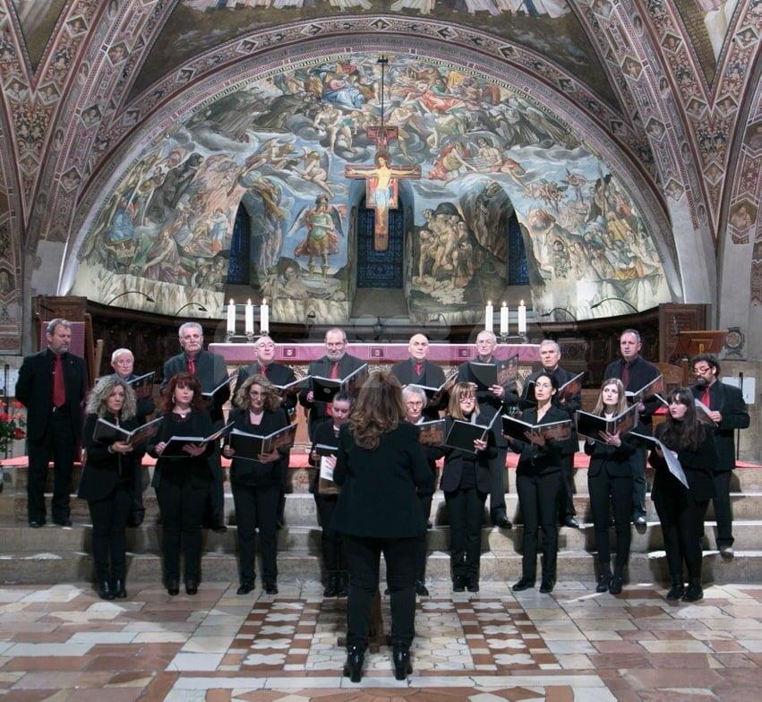 Concentus Vocalis in concerto ad Assisi: le foto dalla Basilica di San Francesco