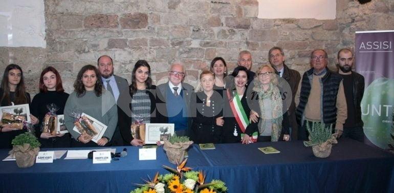 Premio Federico Falchetti 2018, l'azienda e gli alunni vincitori (foto)