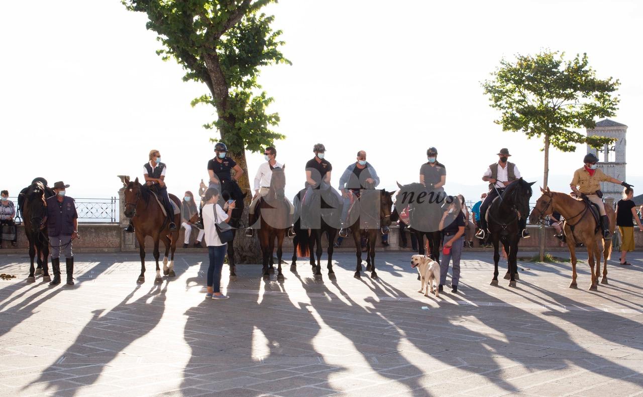 Cavalcata di Satriano 2020, le foto della cerimonia ad Assisi