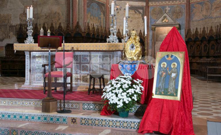 San Francesco e Sant'Antonio, celebrazioni per l'ottocentenario dello storico incontro (foto+video)
