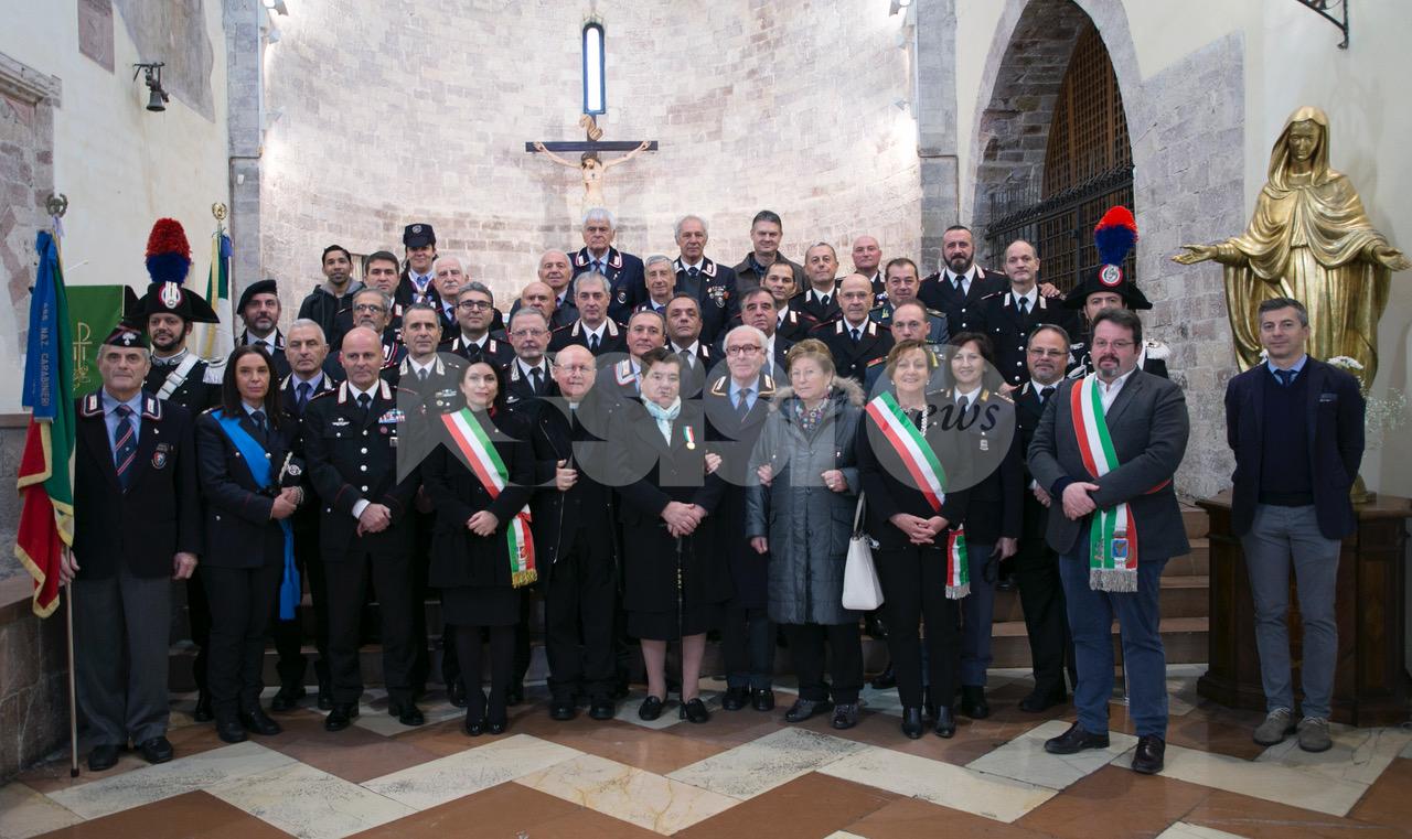 Virgo Fidelis 2019, la compagnia carabinieri di Assisi in festa (FOTO)