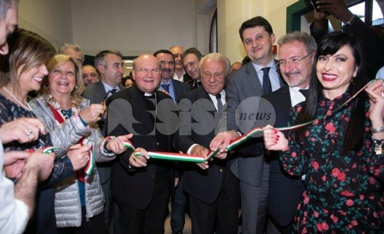 Al Serafico di Assisi nasce il nuovo centro di ricerca InVita: le foto