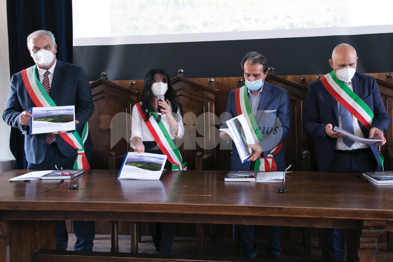 Rilancio del Monte Subasio, firmata la convenzione tra quattro Comuni (foto)