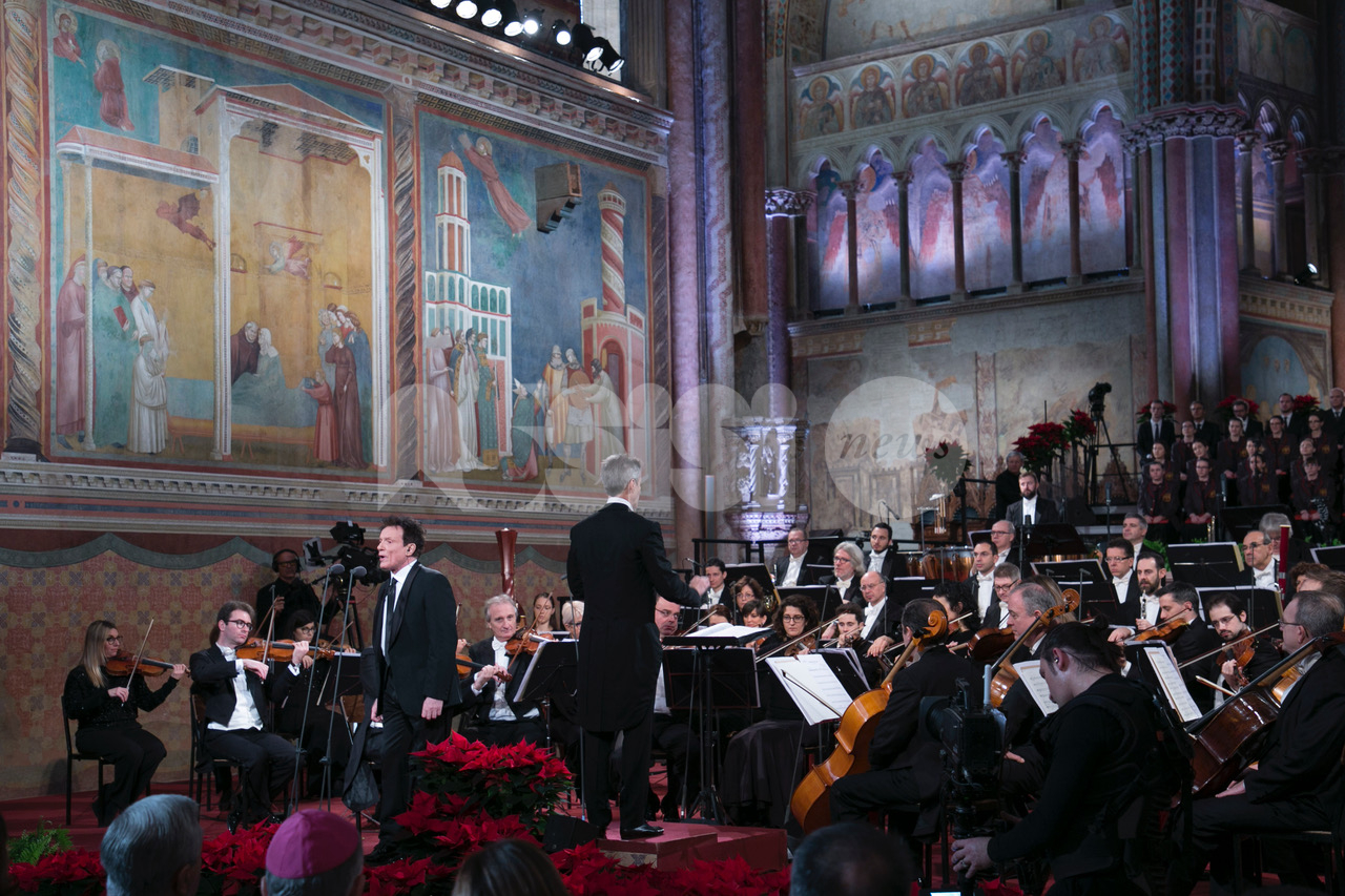 Concerto di Natale da San Francesco di Assisi 2019, le foto