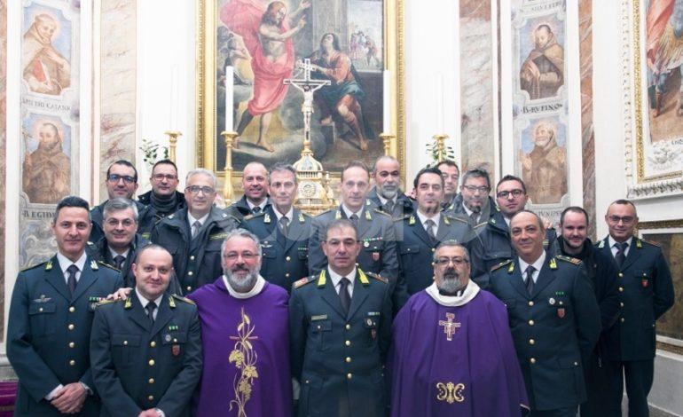La Guardia di Finanza di Assisi celebra il Precetto di Natale (foto)