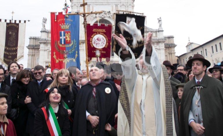 Piatto di Sant'Antonio Abate 2019, a Santa Maria degli Angeli è grande festa (foto-video)
