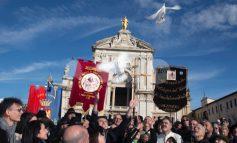 Piatto di Sant'Antonio Abate 2020, a Santa Maria degli Angeli si rinnova la tradizione (foto+video)