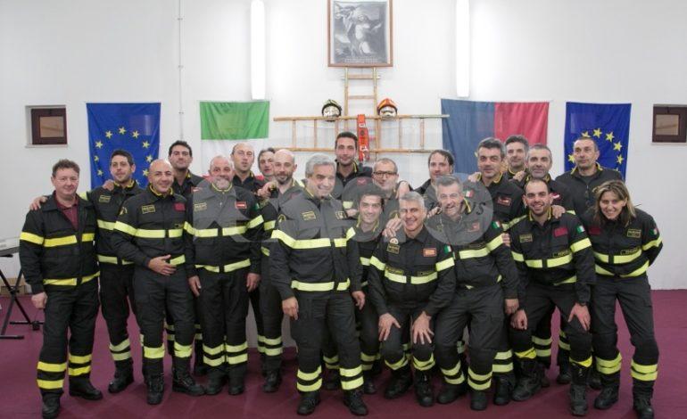 Vigili del fuoco di Assisi, il bilancio dell'attività 2018: oltre 1400 interventi (foto)