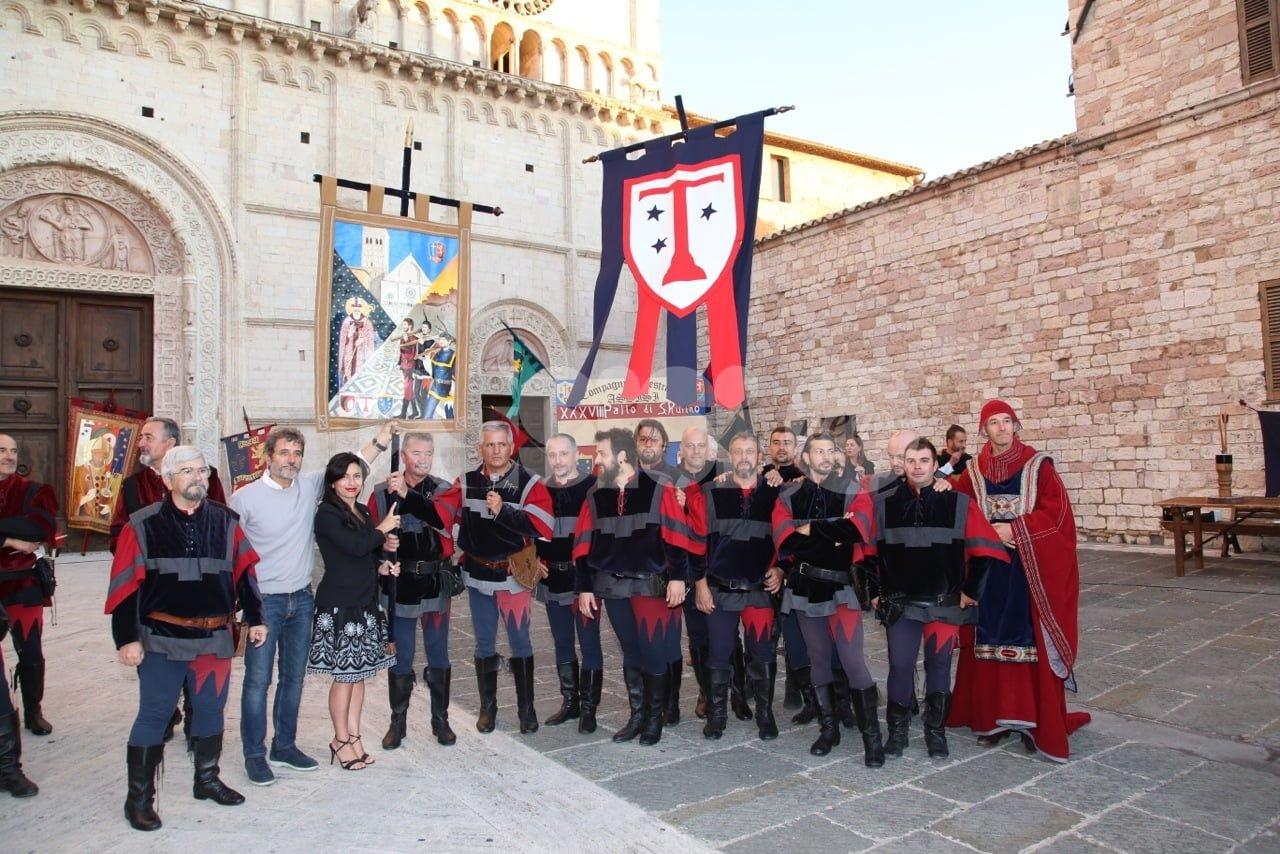 Palio di San Rufino 2018 ad Assisi, vince il Terziere San Francesco (FOTO)