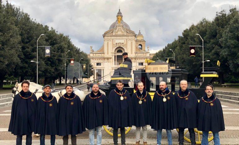 Arriva la diligenza postale per il Piatto di Sant'Antonio 2019 (foto)