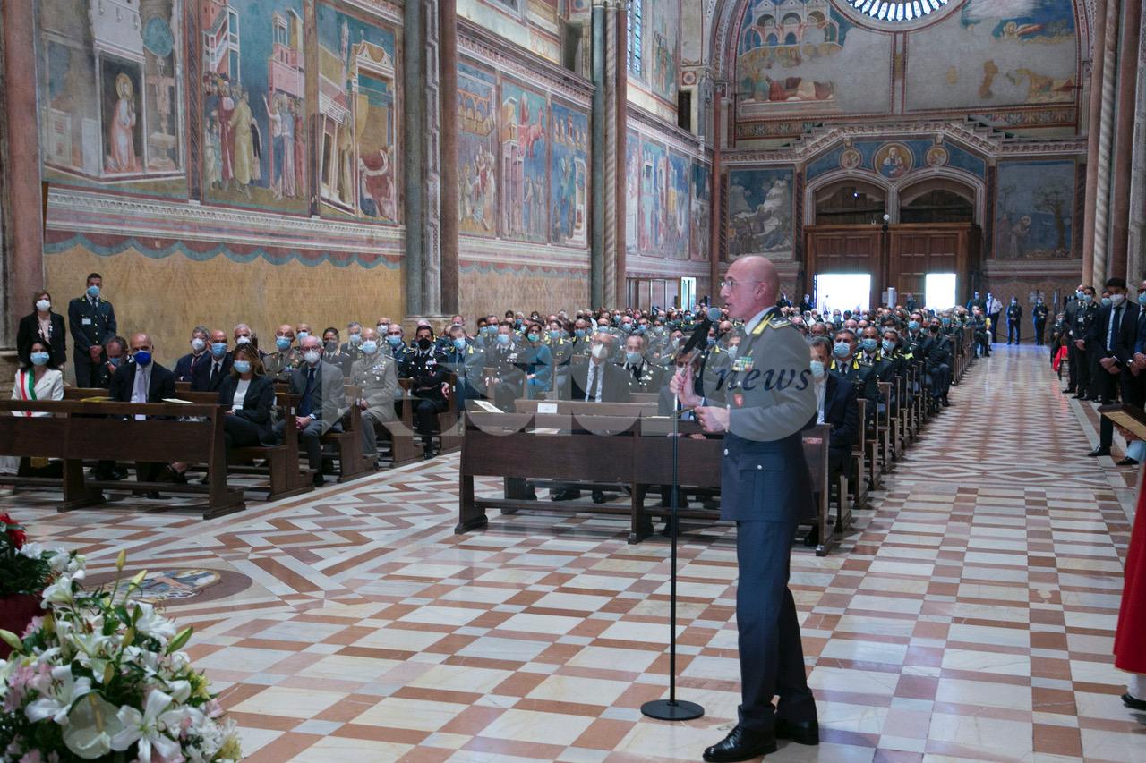 San Matteo 2021, la Guardia di finanza celebra ad Assisi il suo patrono (foto)