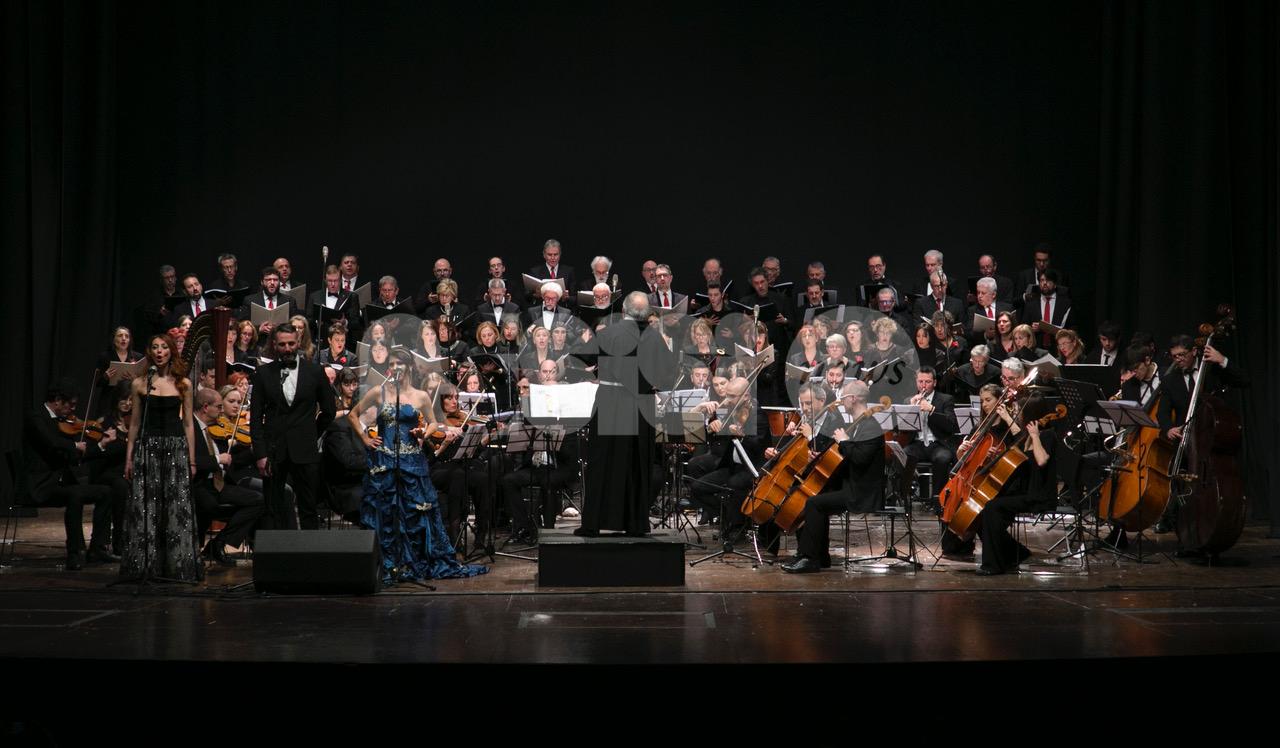 Gran concerto di inizio anno, grande successo al Lyrick (FOTO)