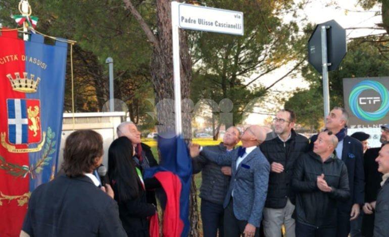 Santa Maria ricorda padre Ulisse Cascianelli: intitolata una via al fondatore del CTF