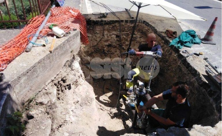 Rete del gas metano, a Petrignano cominciati i lavori