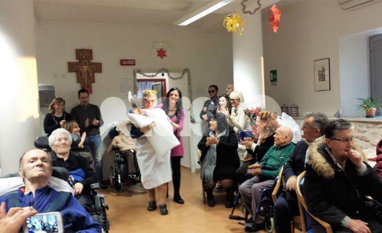 Casa di Riposo Andrea Rossi, Spi Cgil Assisi-Bastia dona elettrocardiografo
