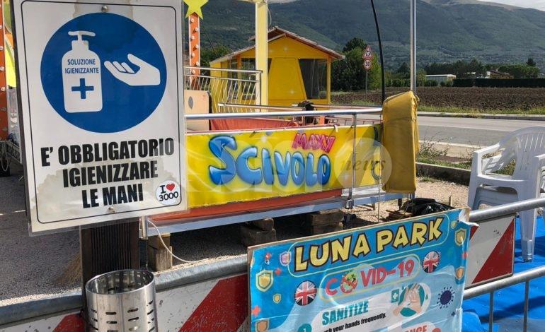 """Carrozzelle Assisi 2020, i titolari: """"Venite a divertirvi, il nostro Luna Park è sicuro"""" (foto)"""