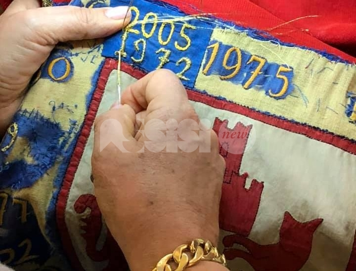 Palio del 1972, Parte de Sopra in Comune per cucire la vittoria (foto)