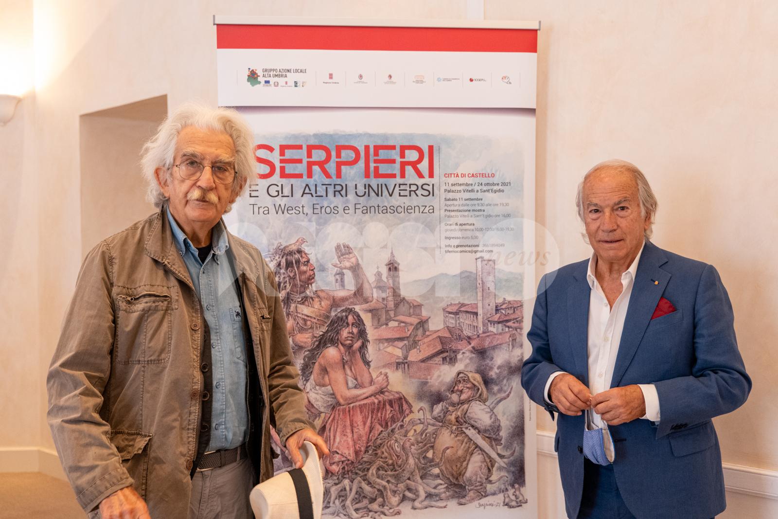 XIX Mostra Nazionale del Fumetto di Città di Castello, si celebrano gli Universi Paralleli di Paolo Eleuteri Serpieri