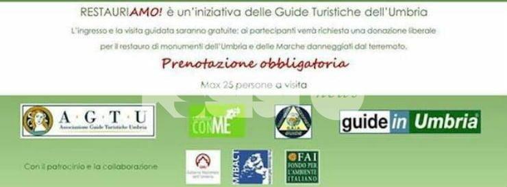 RestauriAmo: il 4 dicembre visite guidate gratis in alcuni musei dell'Umbria