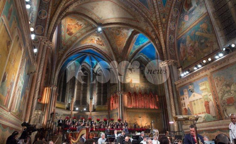 Al Concerto di Natale in Basilica il cardinale Baldisseri e la presidente Boldrini