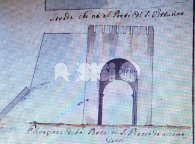Cesare Sermei, all'Archivio di Stato Assisi restaurate lettera e disegno